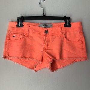 Hollister Orange Shorts